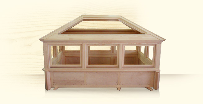 Roof LanternBespoke Joinery Our product range also includes Roof Lanterns that allow light to reach the existing dining room.